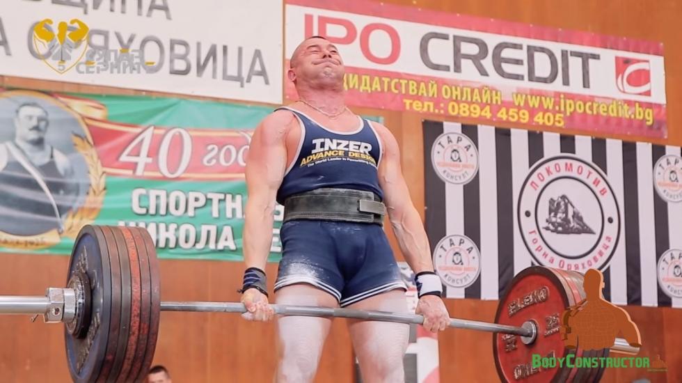 С Нов Световен рекорд на мъртва тяга - Роберт Михайлов
