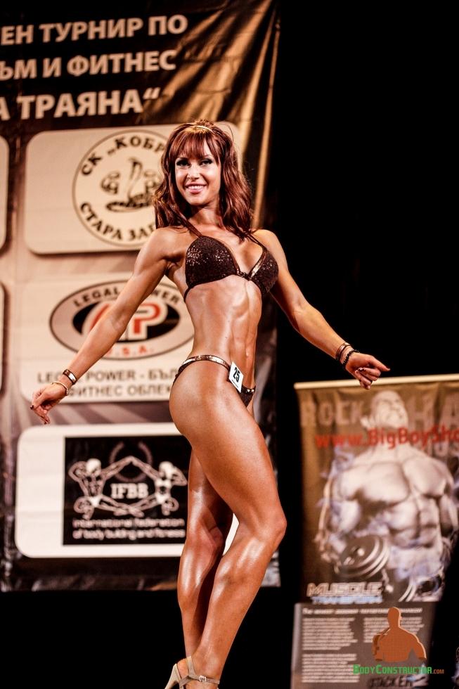 Василена Василева, треньор, BodyConstructor