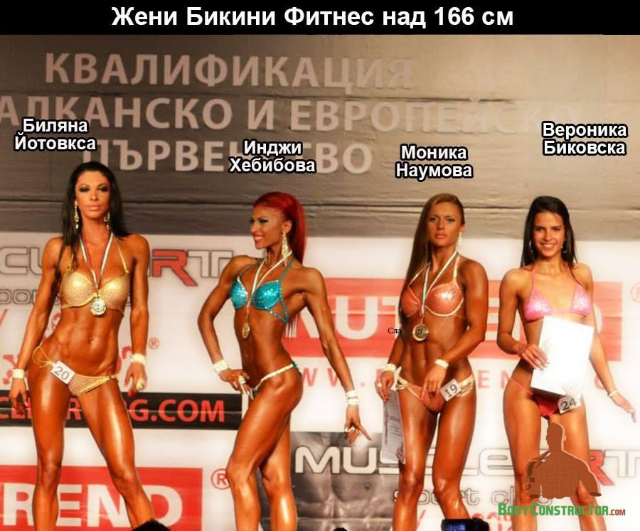 Бикини над 166см, Турнир Пловдив 2014