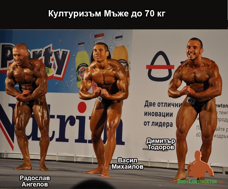 Културизъм до 70кг, Турнир Пловдив 2013