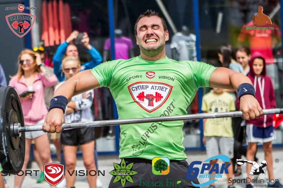 Големият победител във второто издание на Sport Vision Супер Атлет е Ставри Ставрев