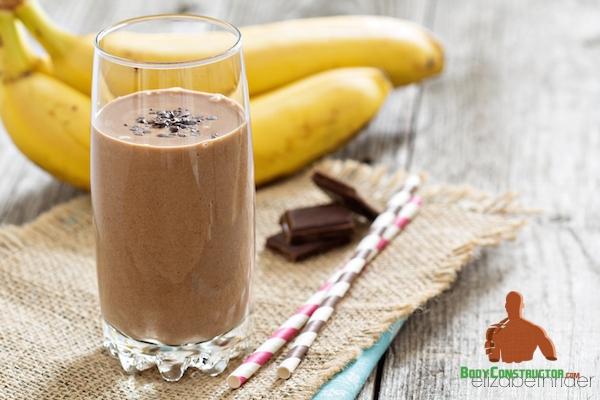 banana, protein, chokolate, протеин