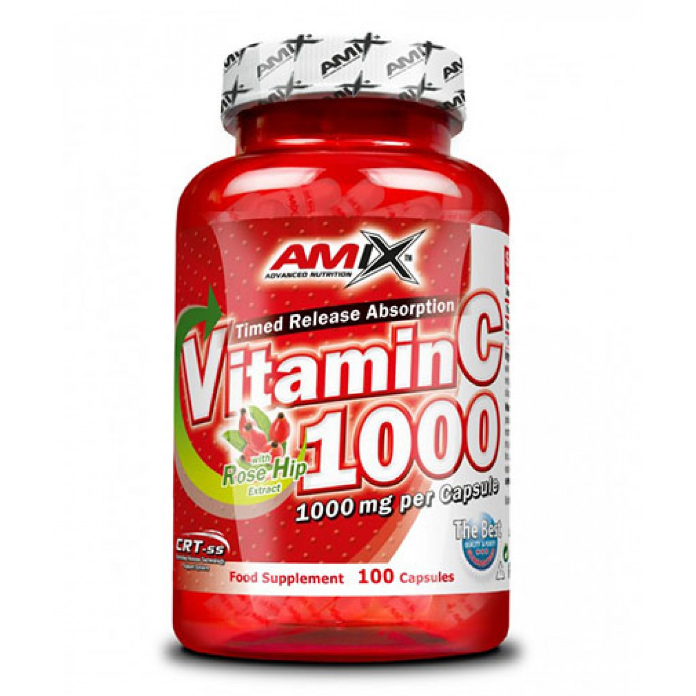 AMIX Vitamin C (with Rose Hips) 1000 Mg