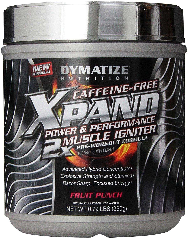 Dymatize Xpand 2x Caffein Free