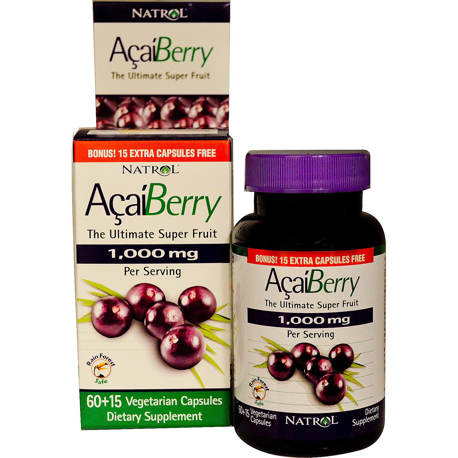 Natrol Acai Berry 1000 mg