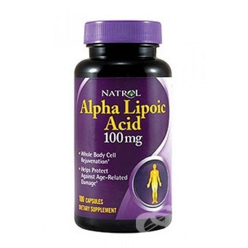 Natrol ALA 100 mg