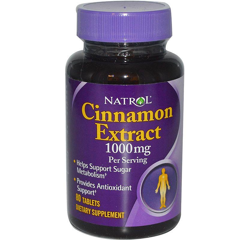 Natrol Cinnamon Extract 1000 mg