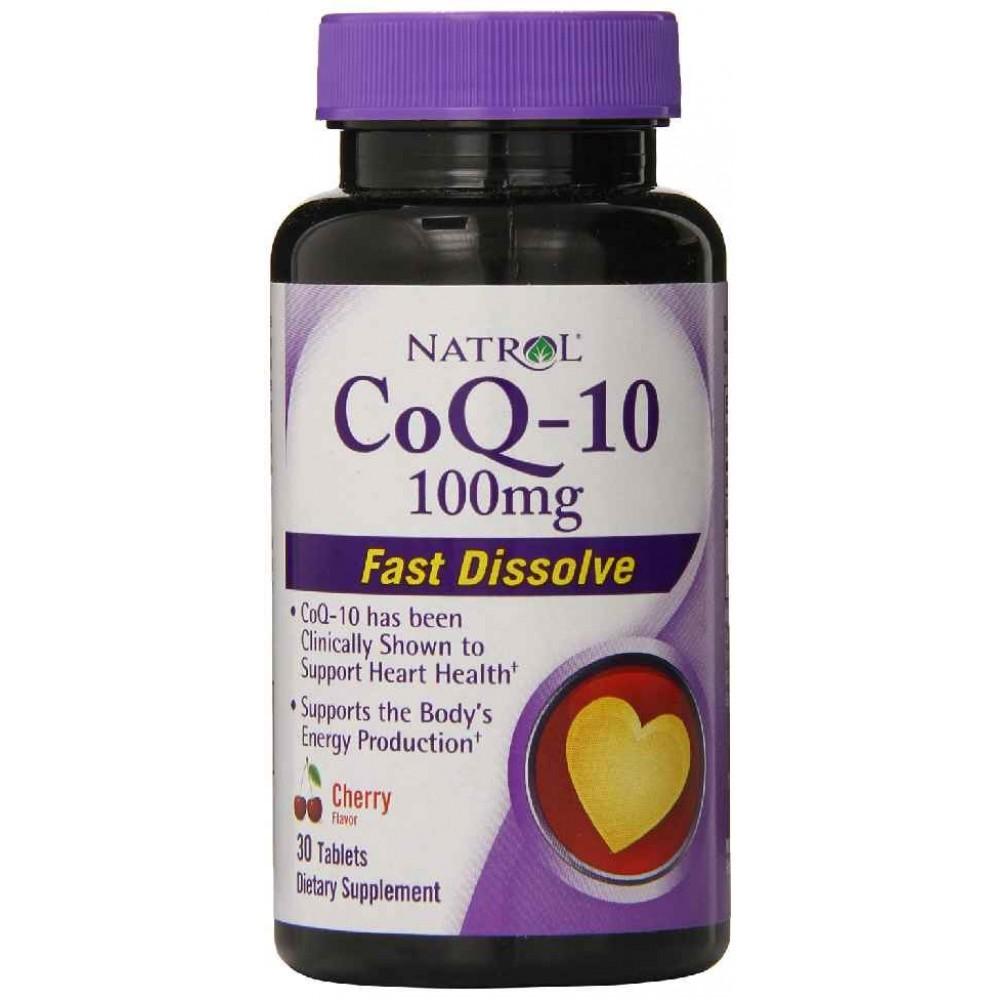 Natrol CoQ-10 100 mg бързо разтворим