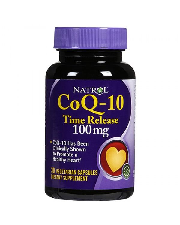 Natrol CoQ-10 100 mg с удължено освобождаване