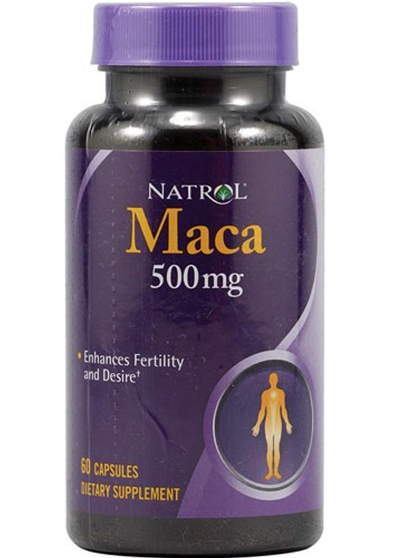 Natrol Maca 500 mg