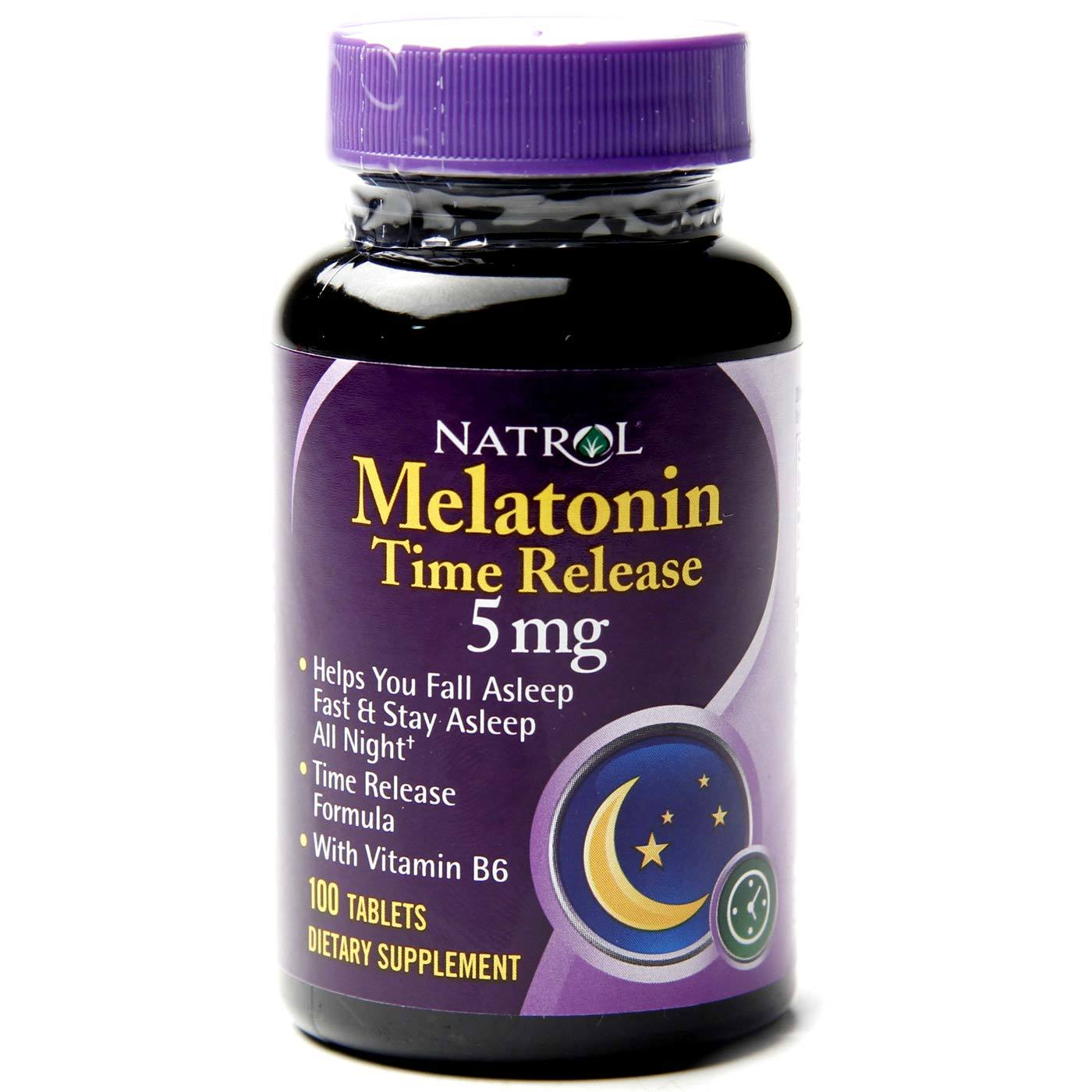 Natrol Melatonin Time Release 5 mg