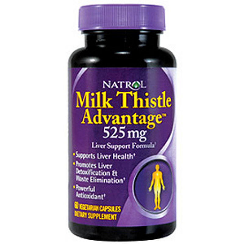 Natrol Milk Thistle Advantage 525 mg