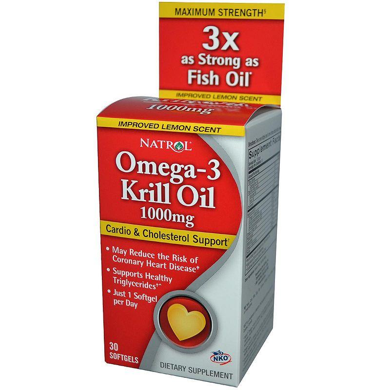 Natrol Omega-3 Krill Oil 500 mg