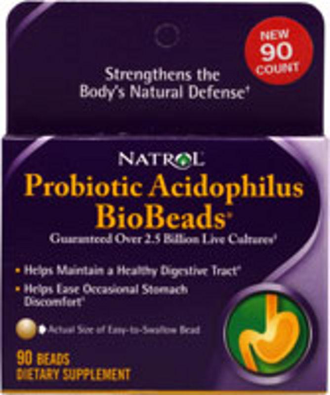 Natrol Probiotic Acidophilus Bio Bread
