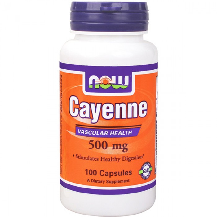NOW Foods Cayenne 500 мг