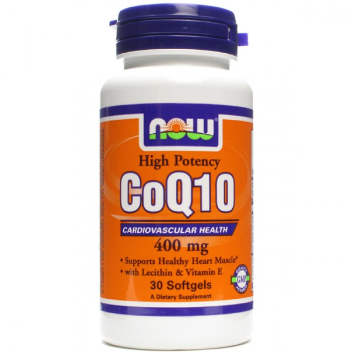 NOW Foods CoQ10 400 мг