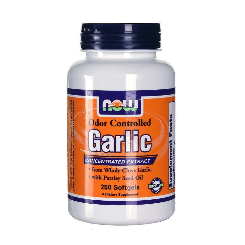 NOW Garlic (Чесън - без мирис)