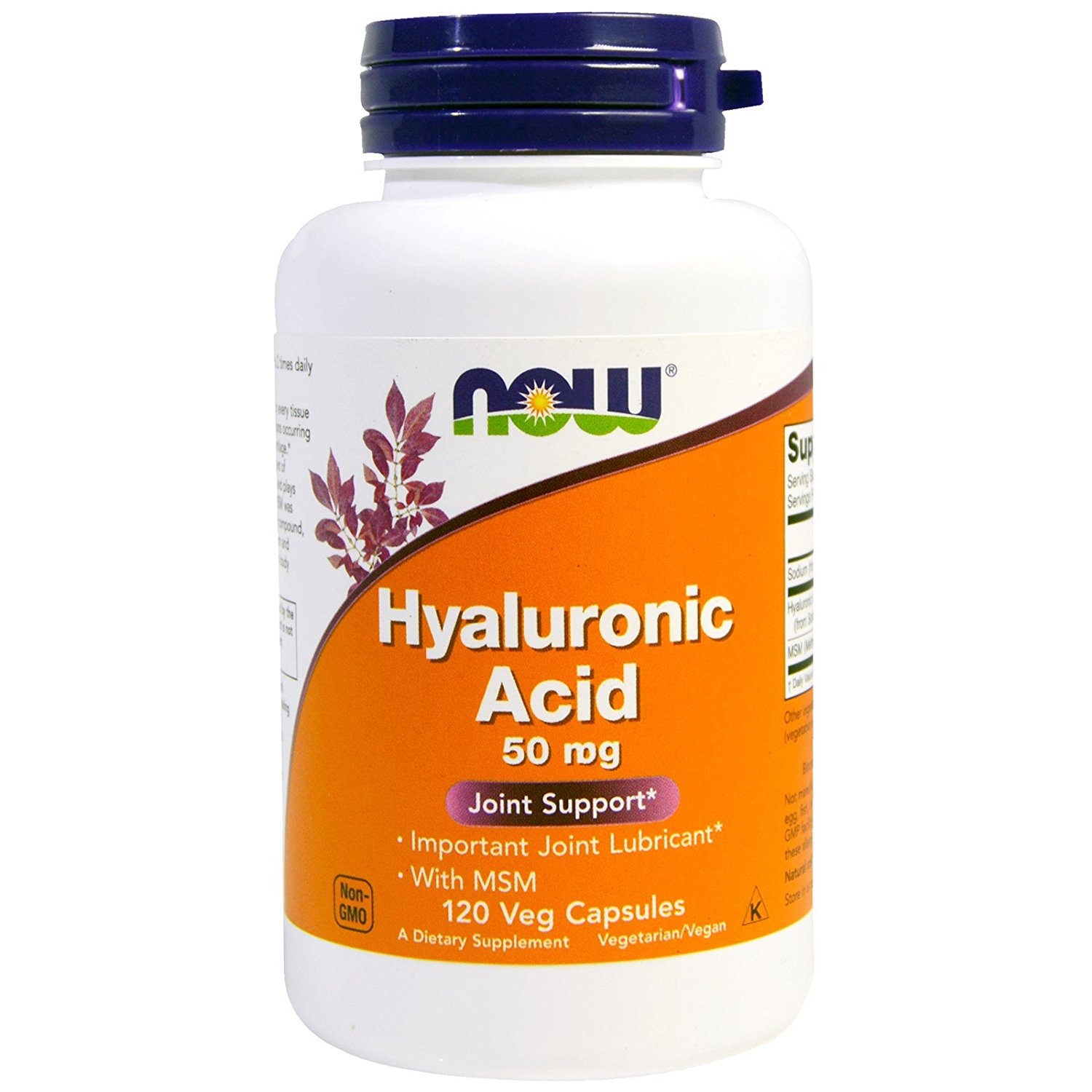 NOW Hyaluronic Acid с MSM