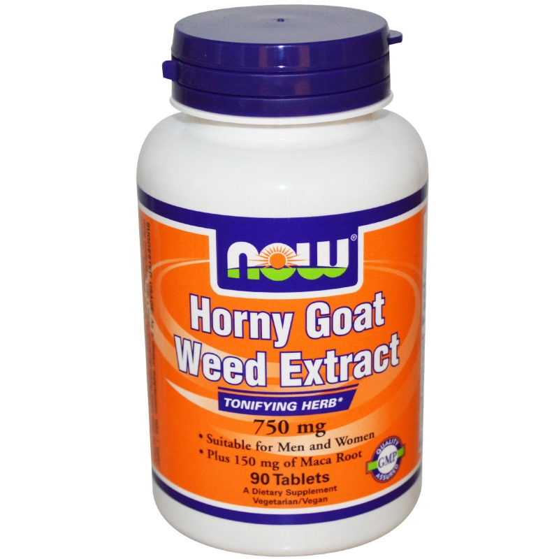 NOW Horny Goat Weed Extract 750 мг