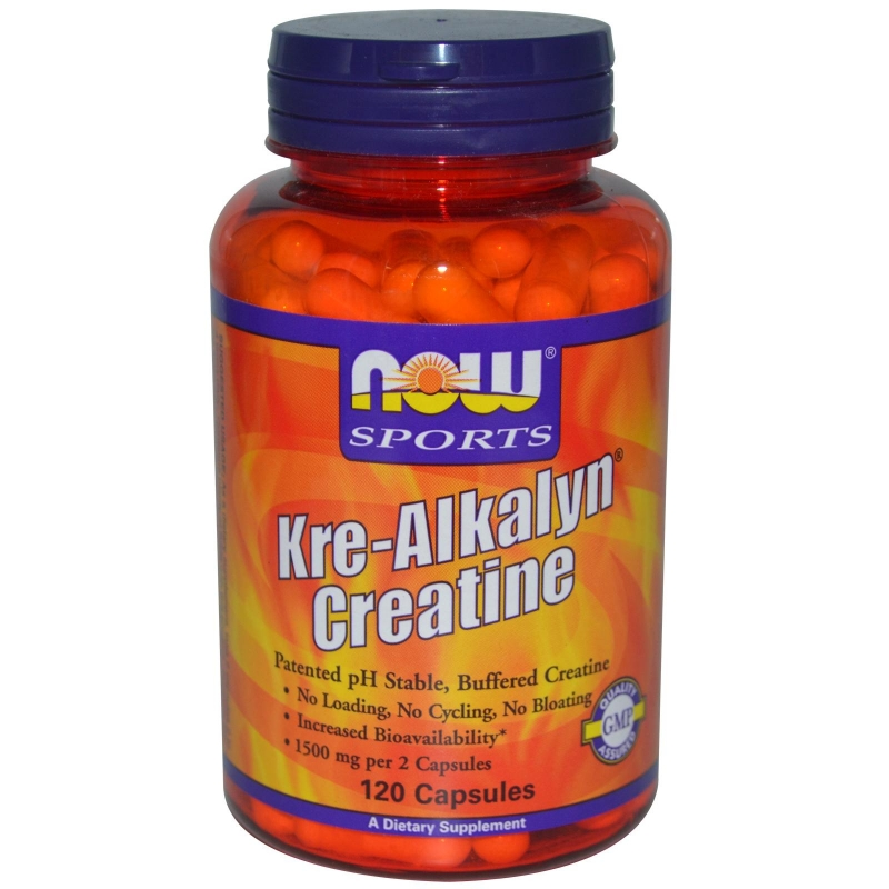 NOW Kre-Alkalyn 750 мг