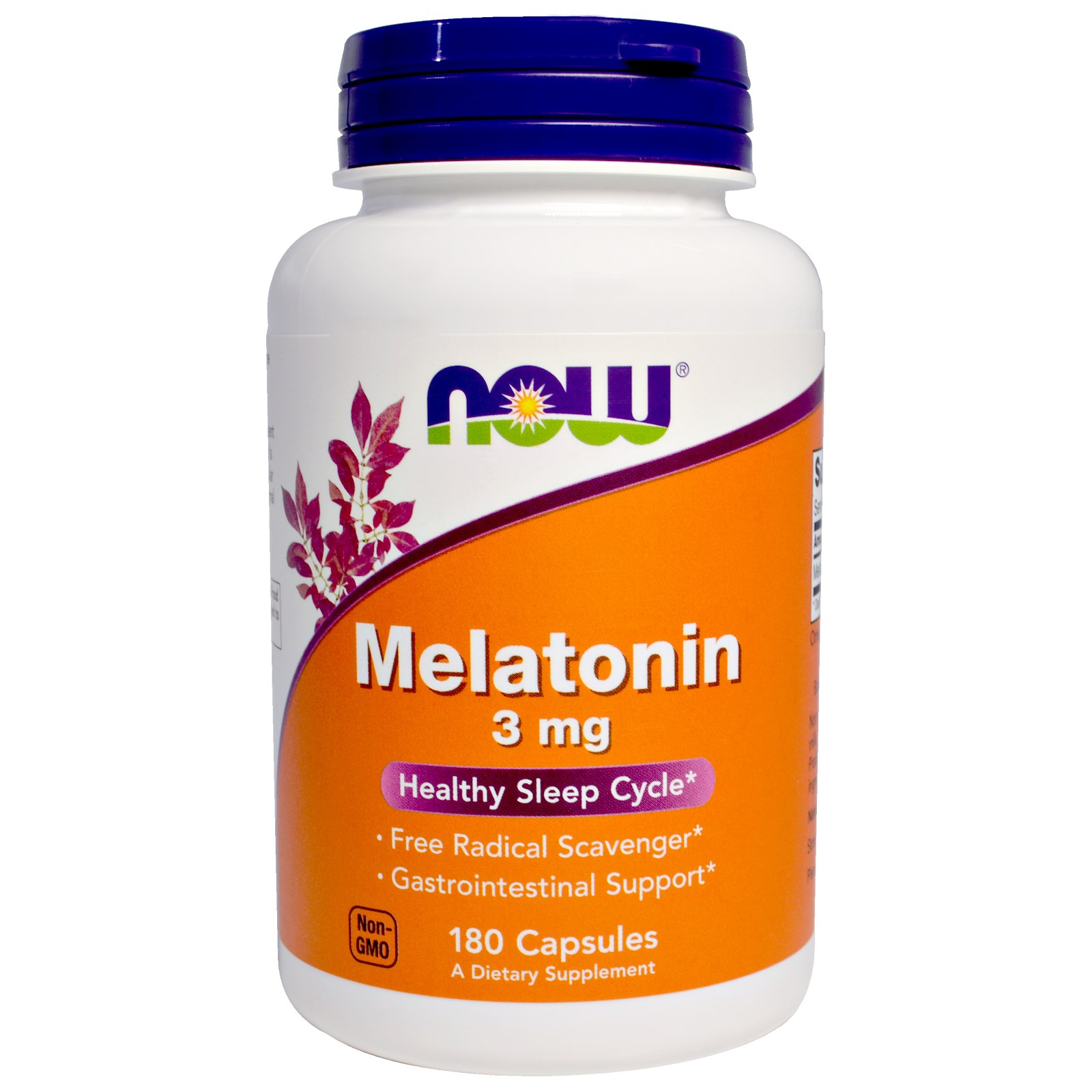 NOW Melatonin 3 мг