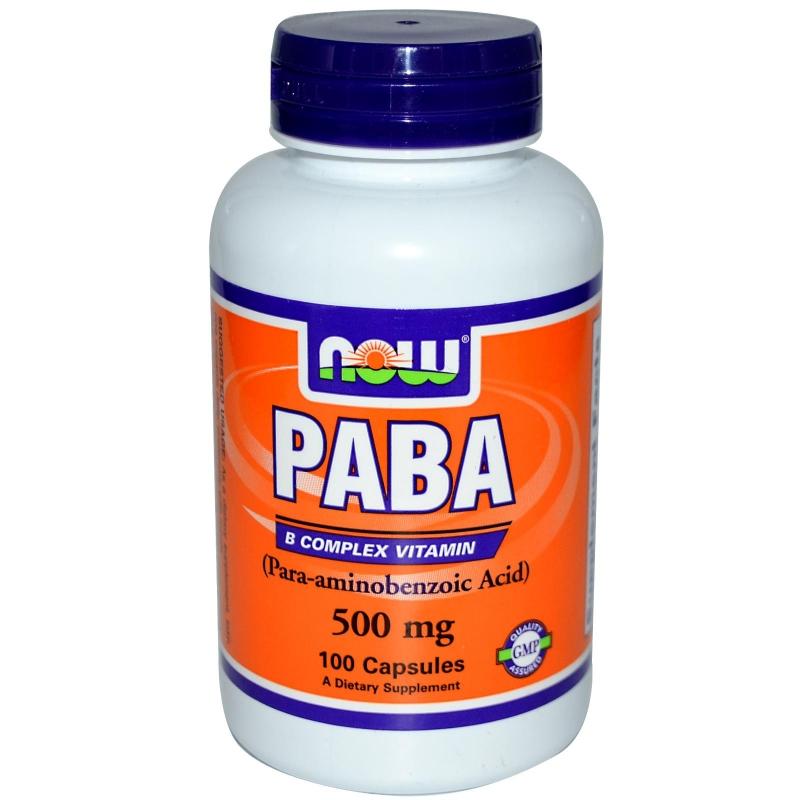 NOW PABA 500 mg