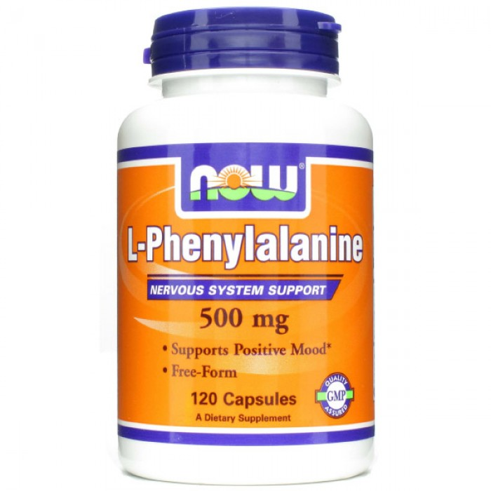 NOW Phenylalanine 500 мг
