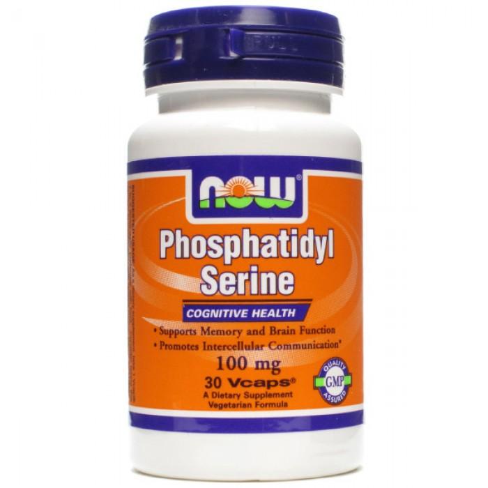 NOW Foods Phosphatidyl Serine 100 мг