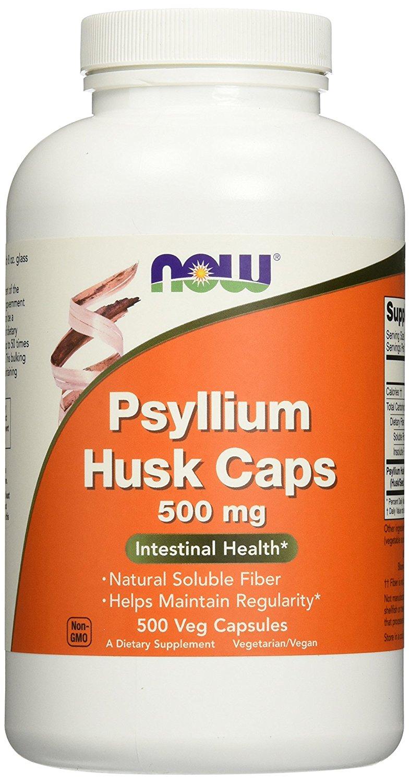 NOW Psyllium Husk 500 мг