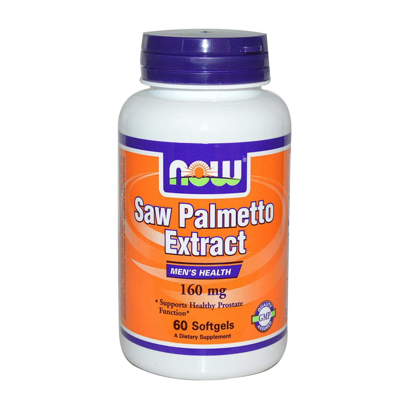NOW Saw Palmetto Extract 160 мг