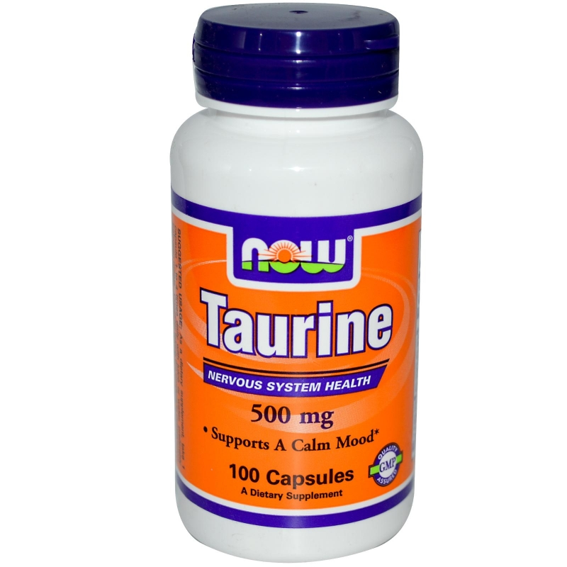 NOW Taurine (Таурин) 500mg