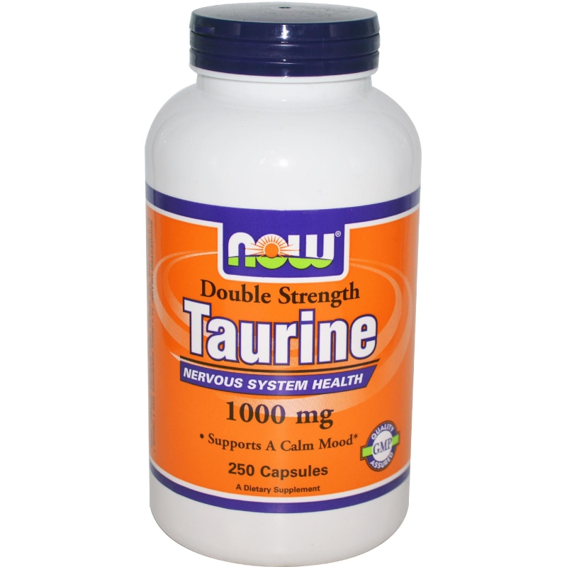 NOW Taurine (Таурин)1000mg