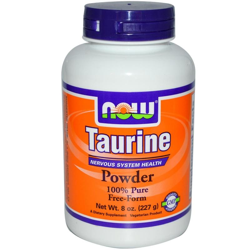 NOW Foods Taurine на прах