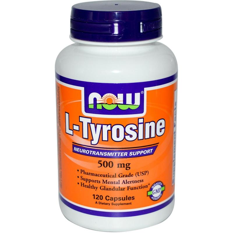 NOW Foods Tyrosine 500 мг
