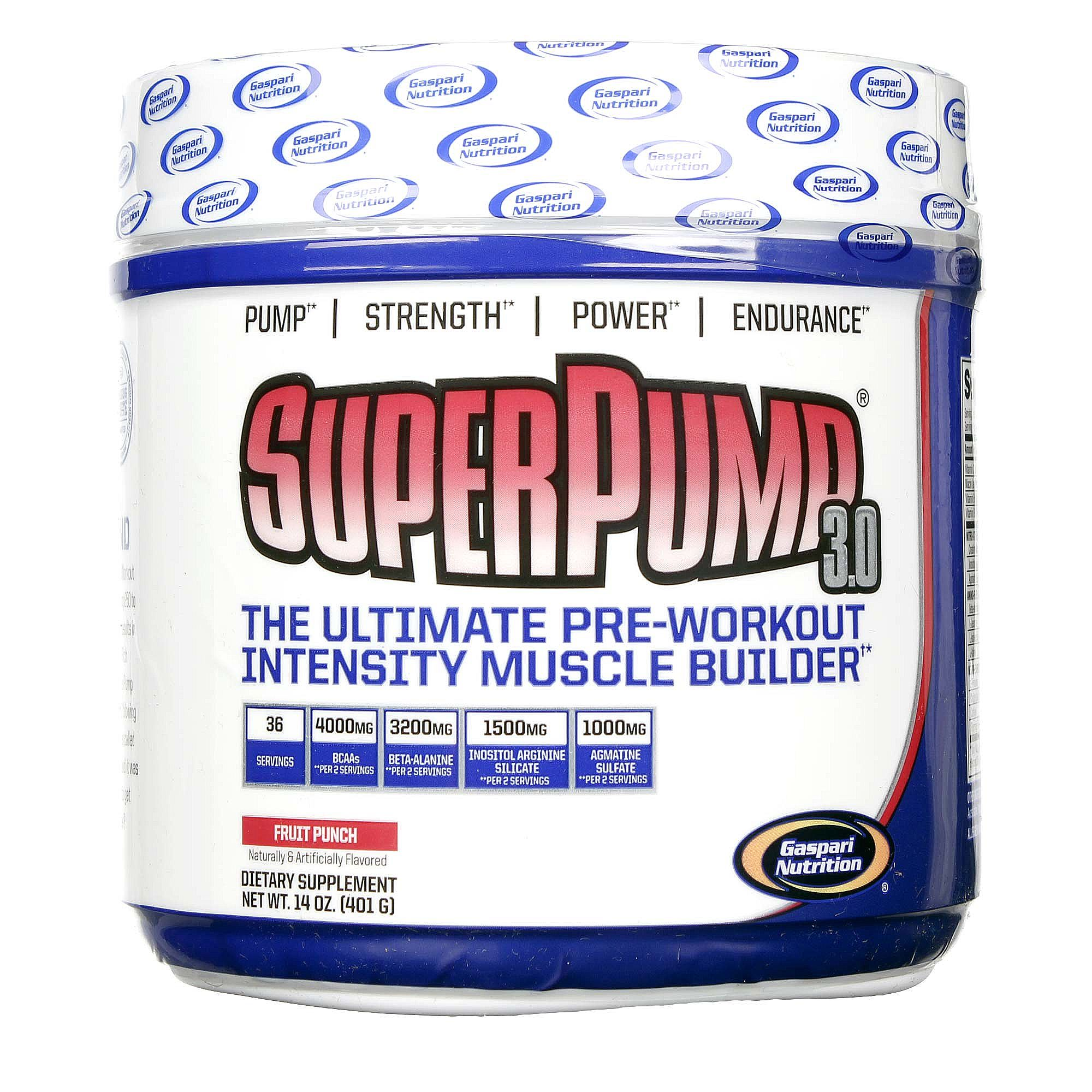 Gaspari Nutrition SuperPump 3.0