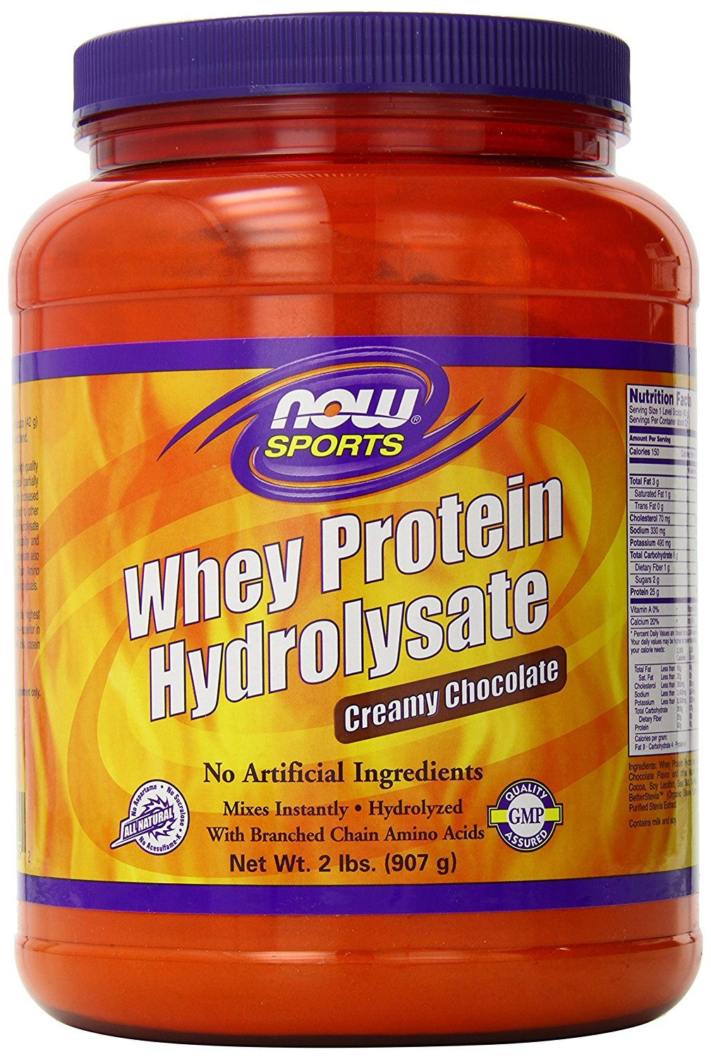 NOW Foods Whey Protein Hydrolysate Creamy Chocolate