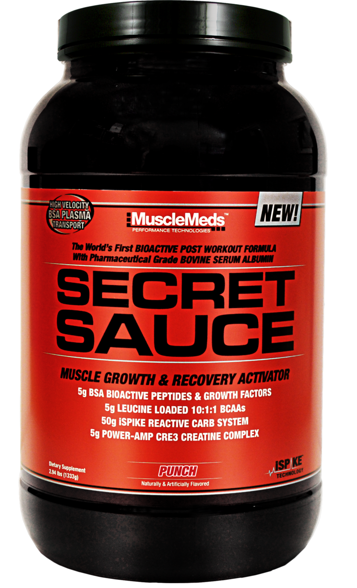 Muscle Meds Secret Sauce
