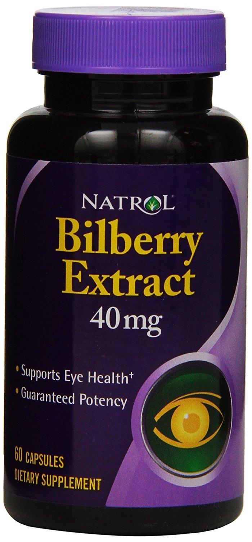 Natrol Bilberry Extract 40mg