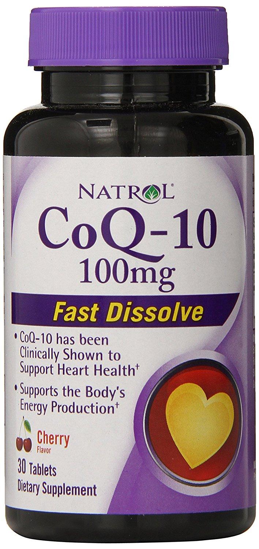 Natrol Co-Q10 Fast Dissolve 100mg.