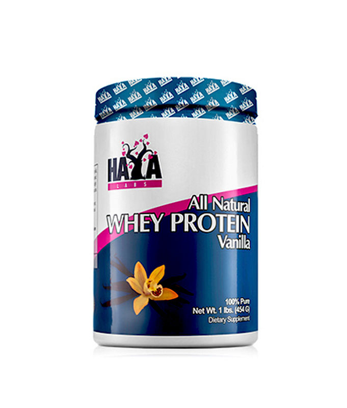 HAYA Labs 100% Pure All Natural Whey Protein Vanilla