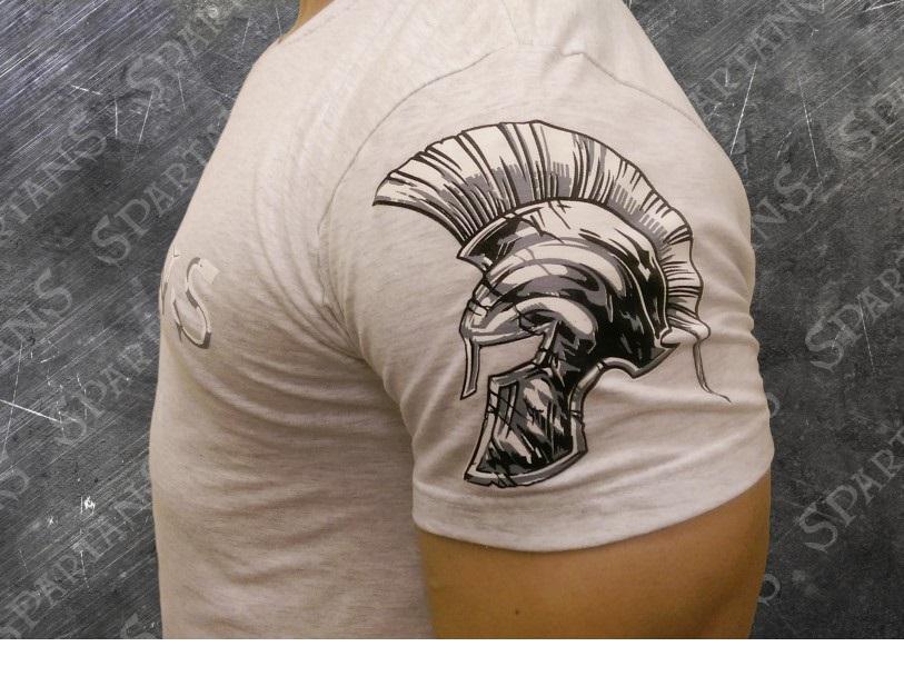 Spartans Mark Of The Brotherhood Тениска