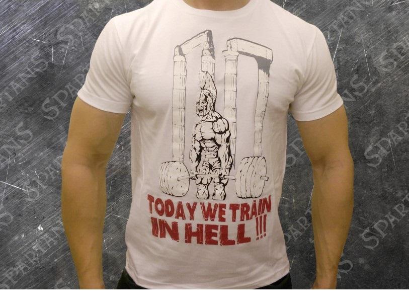 Spartans Deadlifting Spartan Тениска