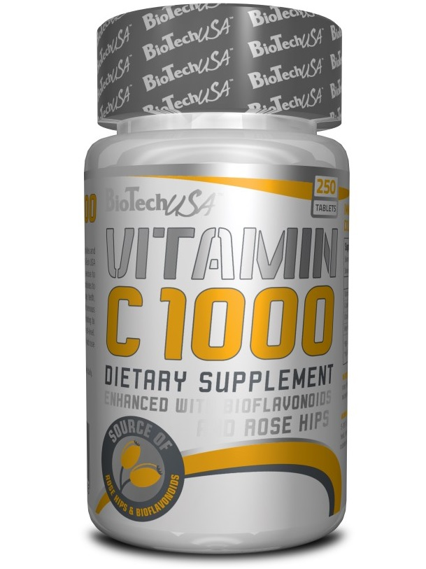 BioTech USA Vitamin C 1000 Bioflavonoids