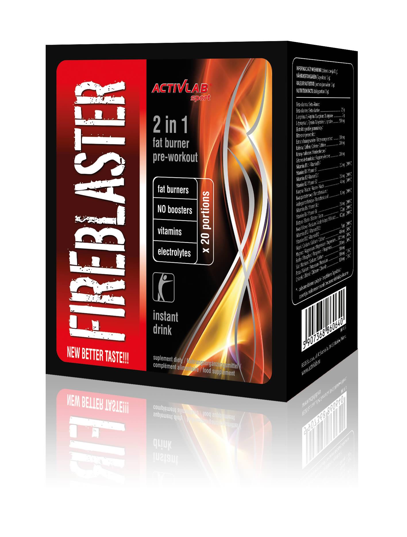 Activlab ActivLab FireBlaster - 250g