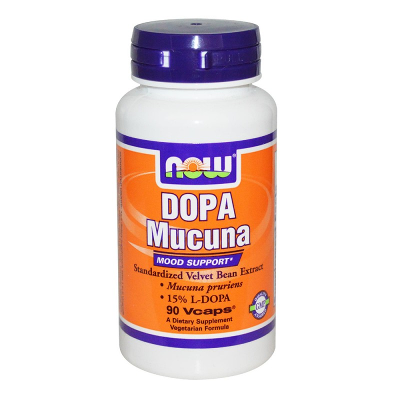 NOW DOPA Mucuna - 90 caps.