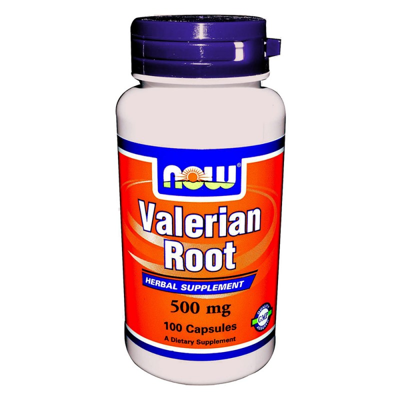 NOW Valerian Root 500MG.