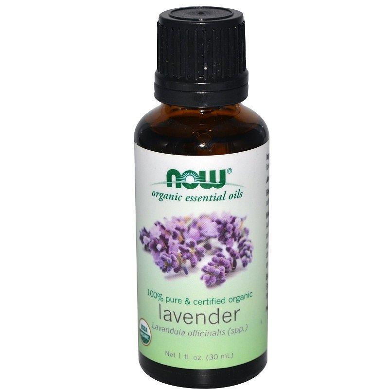 NOW Organic Lavender Oil (органично масло от лавандула)