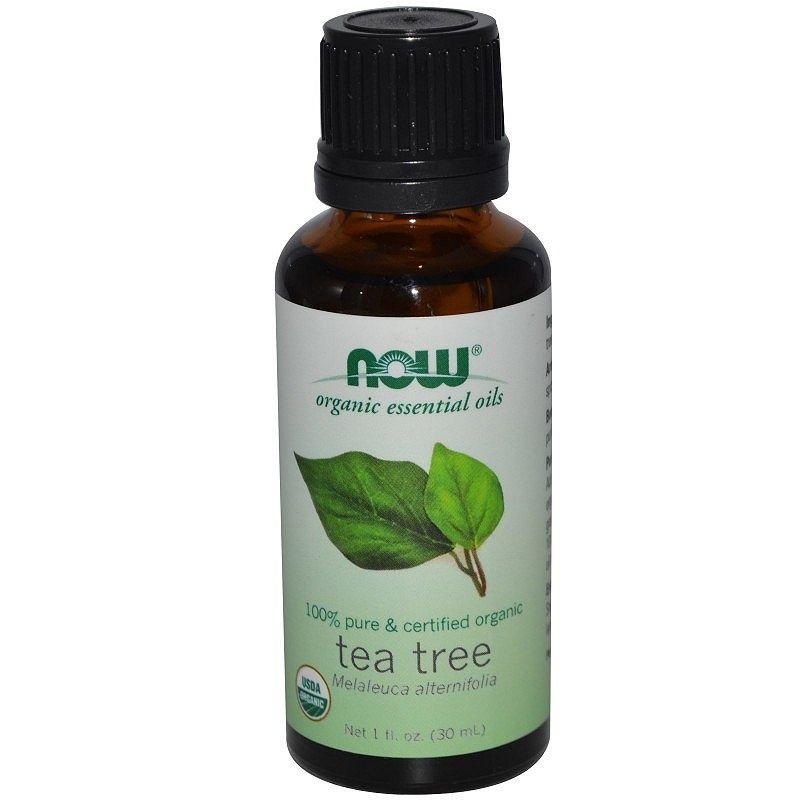 NOW Organic Tea Tree Oil (органично масло от чаено дърво)