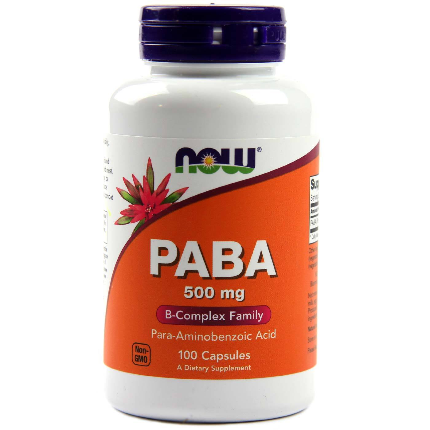 NOW Foods PABA 500 mg