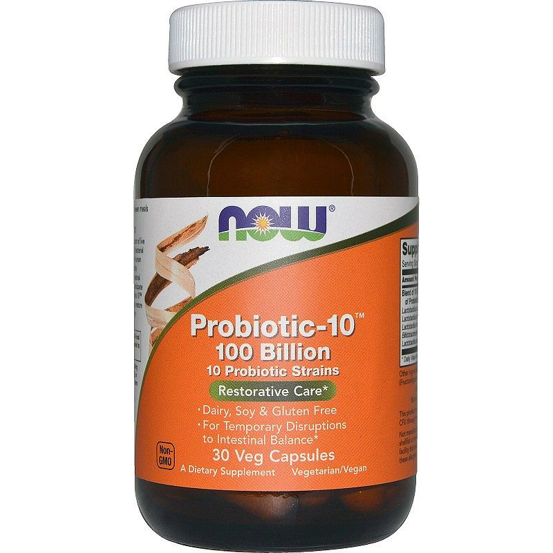NOW Probiotic-10 100 Billion